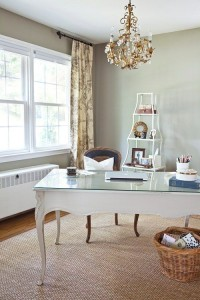 This is from a place called DesignSponge. Pretty, eh?
